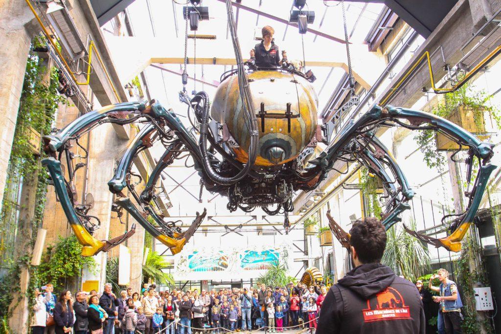 Nantes - l'île aux machines